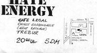 "Flyer ""Cafe Legal"""