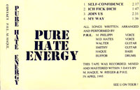 PHE - Demo Cover 1995